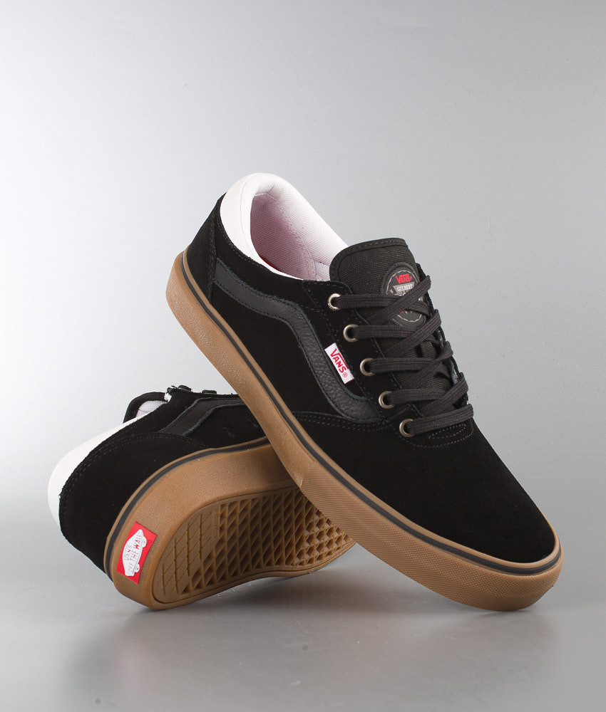 bbc5e4a748 Vans Gilbert Crockett Pro Scarpe Black White Gum - Ridestore.it