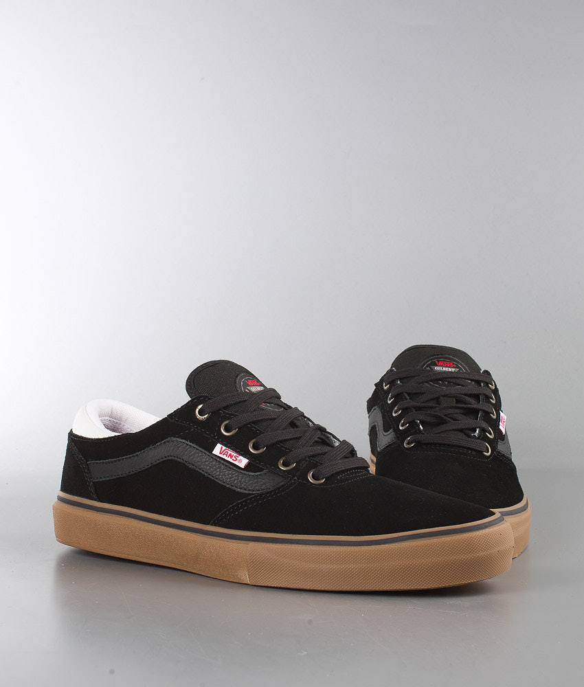 f2885cac30 Vans Gilbert Crockett Pro Shoes Black White Gum - Ridestore.com