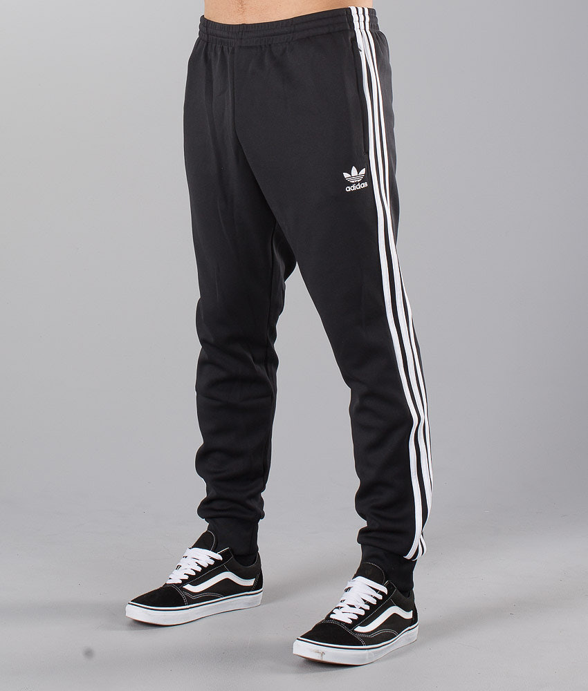 077fe65c9ce Adidas Originals Sst Cuffed Tp Pants Black - Ridestore.com