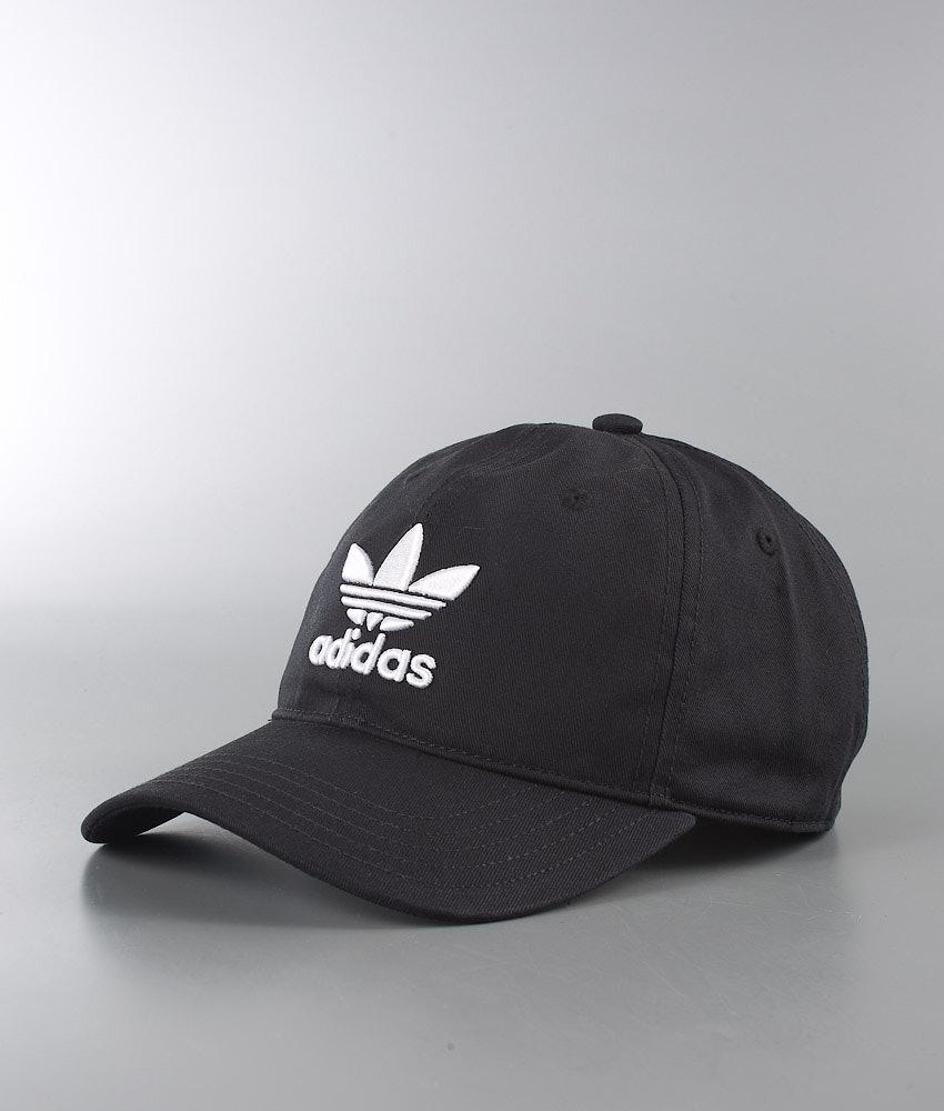 a3d7f5409a2 Adidas Originals Trefoil Cap Black - Ridestore.com