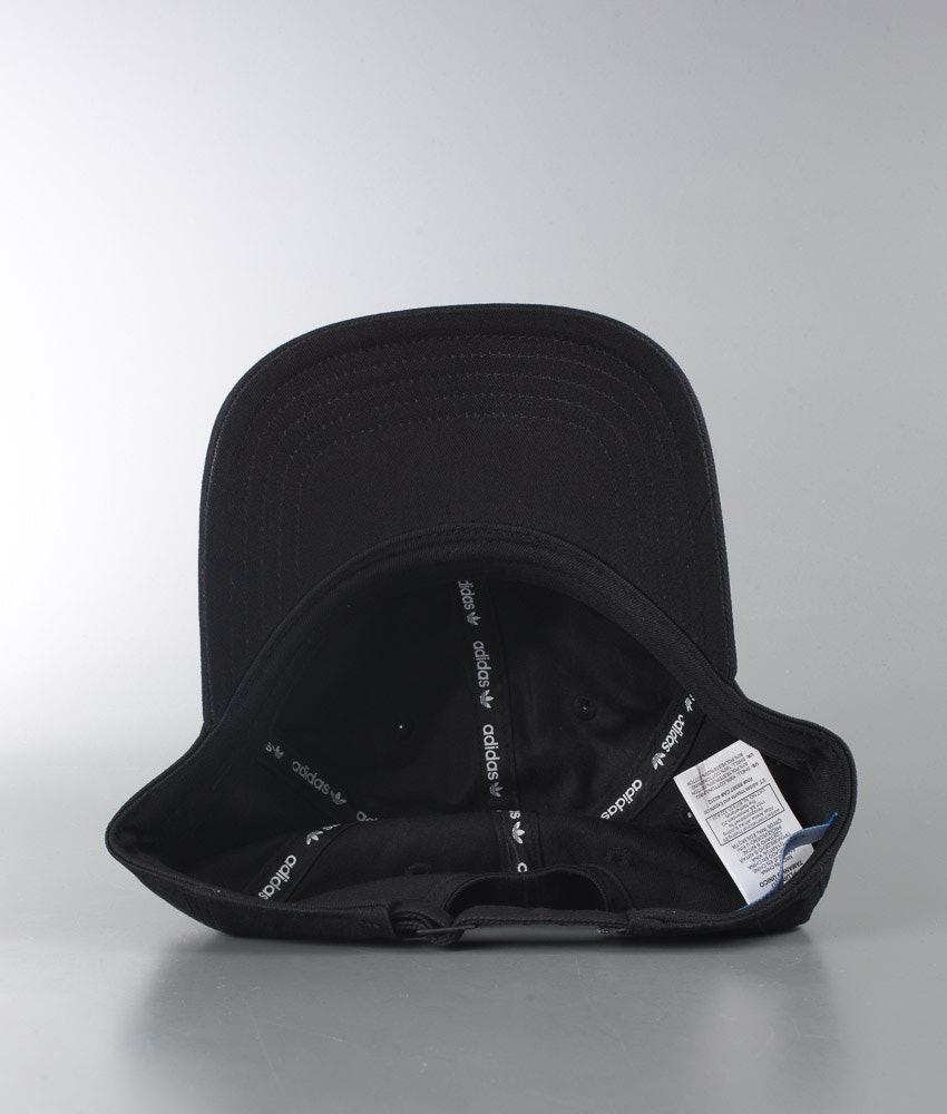 Adidas Originals Trefoil Cap Black - Ridestore.com 60c3d9e9590