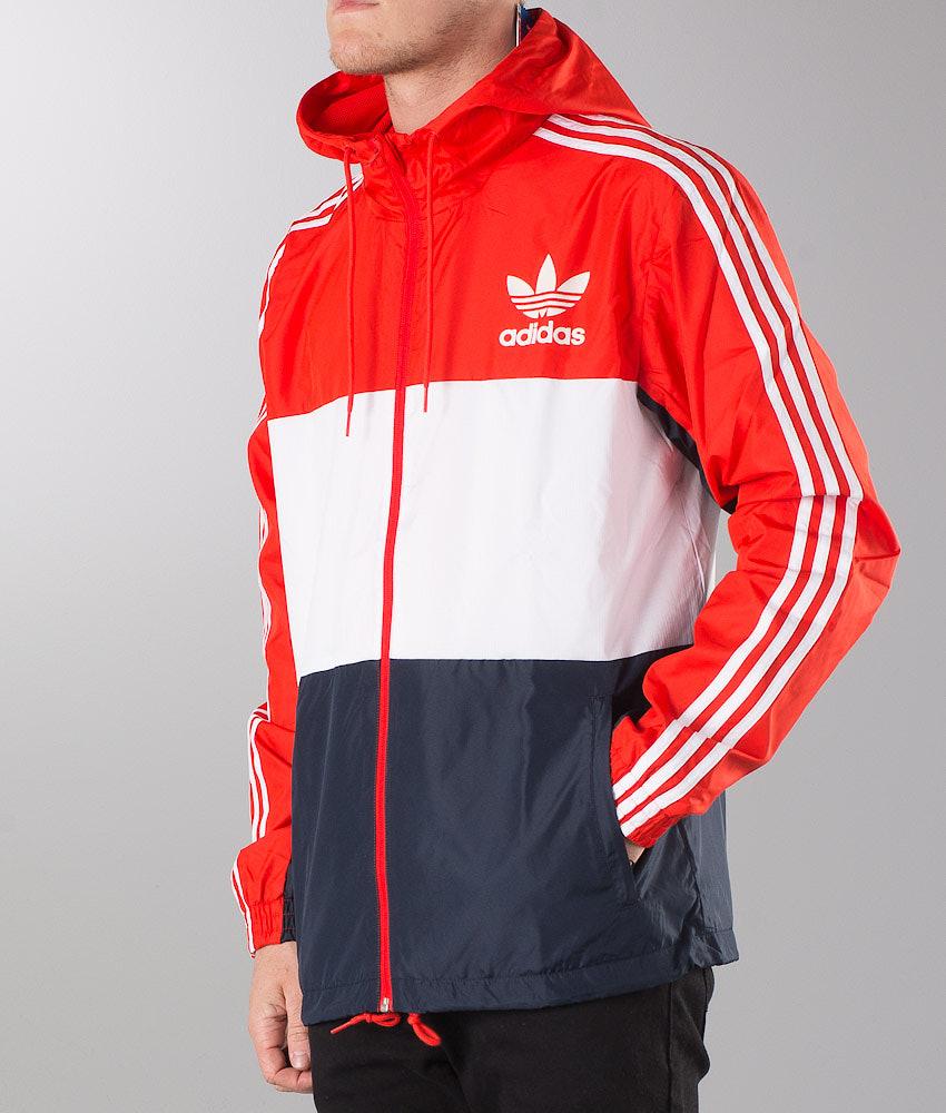 f37c49d36 Adidas Originals Clfn Wb Jacket Core Red - Ridestore.com
