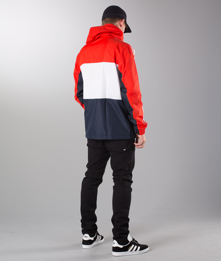 Adidas Originals Clfn Wb Jacket Core Red