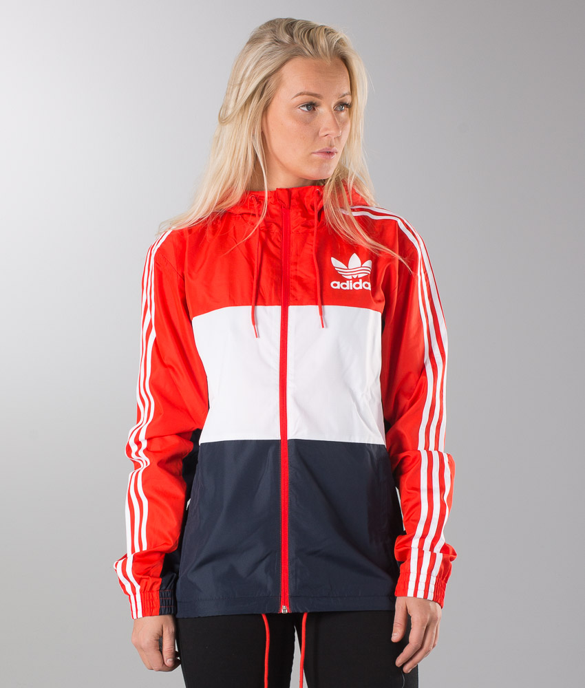 Adidas Originals Clfn Wb Unisex Jacket Core Red