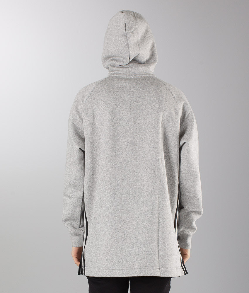 Adidas Originals Elongated Hood Medium Grey Heather - Ridestore.com 7f6fb0a917