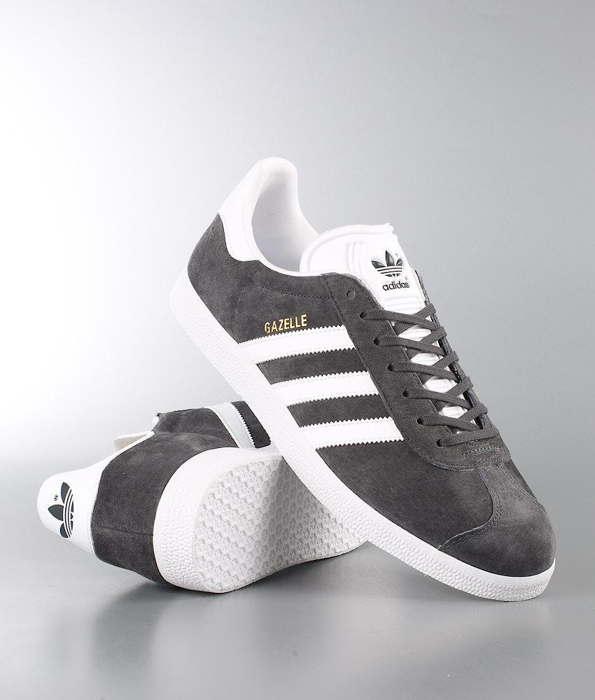 Adidas Originals Gazelle Skor Dgh Solid Grey White Goldmt - Ridestore.se f529f2c3e5e1d