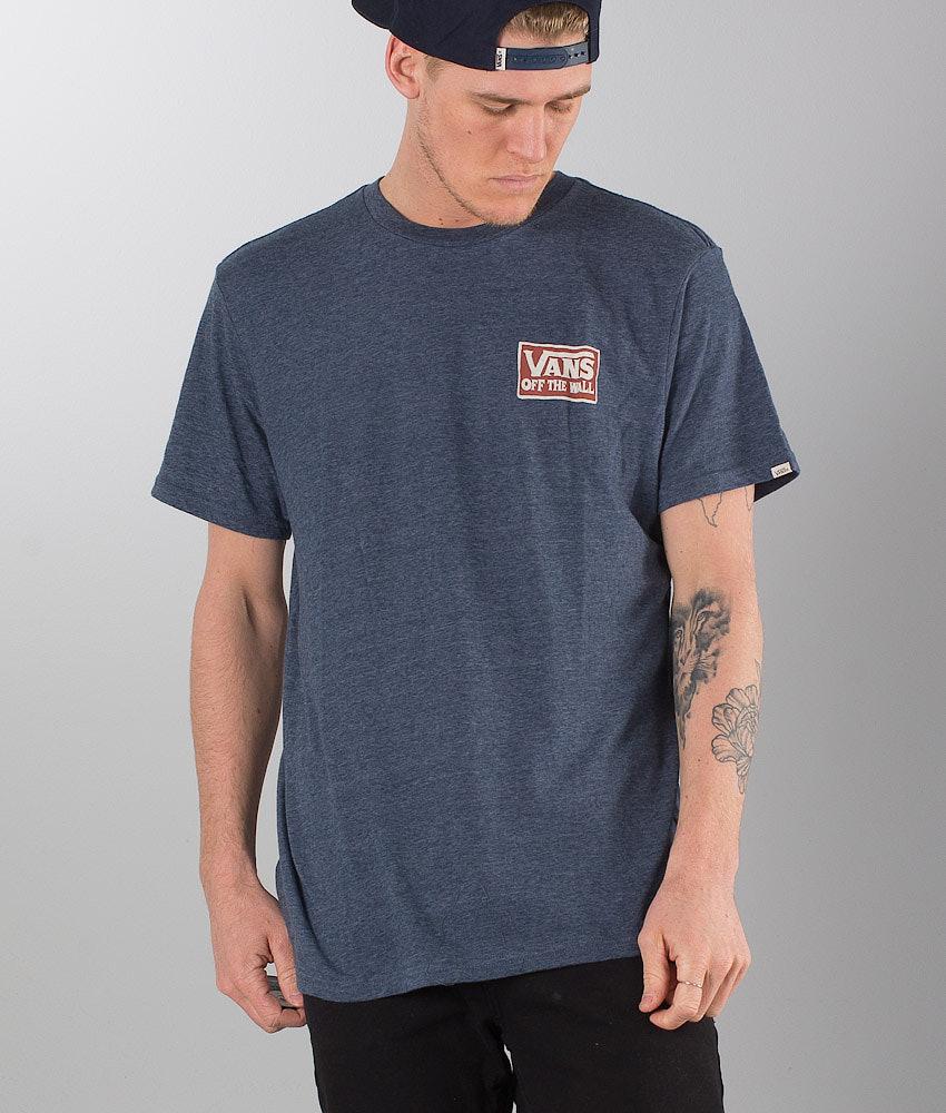 9936f7fbb2 Vans Shaping Triblend T-shirt Navy Heather - Ridestore.com
