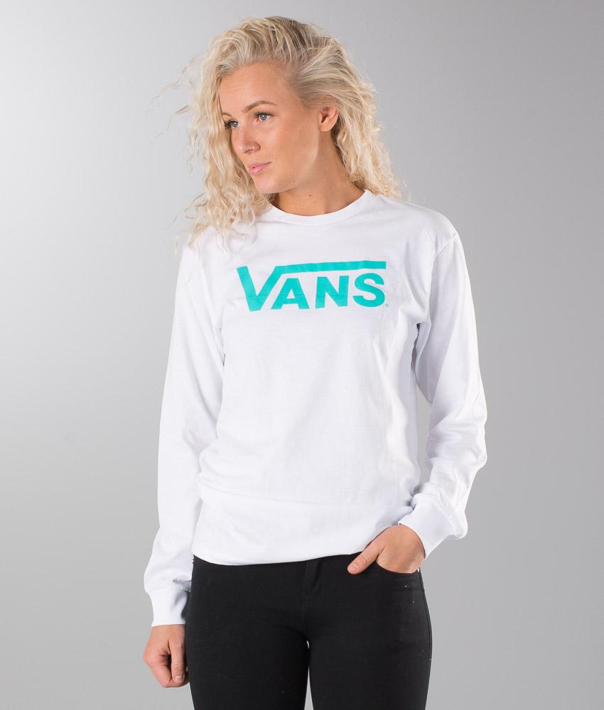 Vans Vans Classic Unisex Longsleeve White Baltic