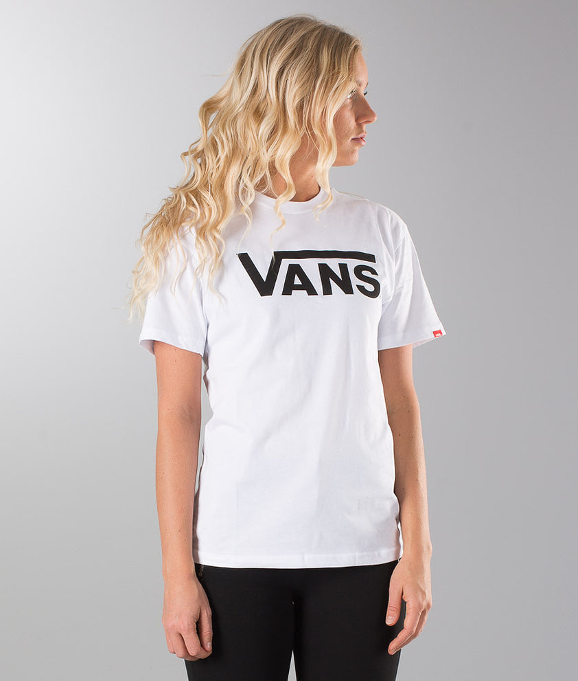 Vans Vans Classic Unisex T-shirt White/ Black