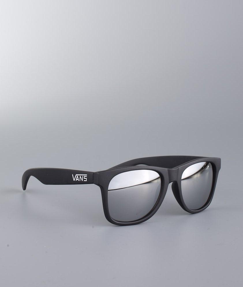Vans Spicoli 4 Shades Aurinkolasit Matte Black/Silver Mirror