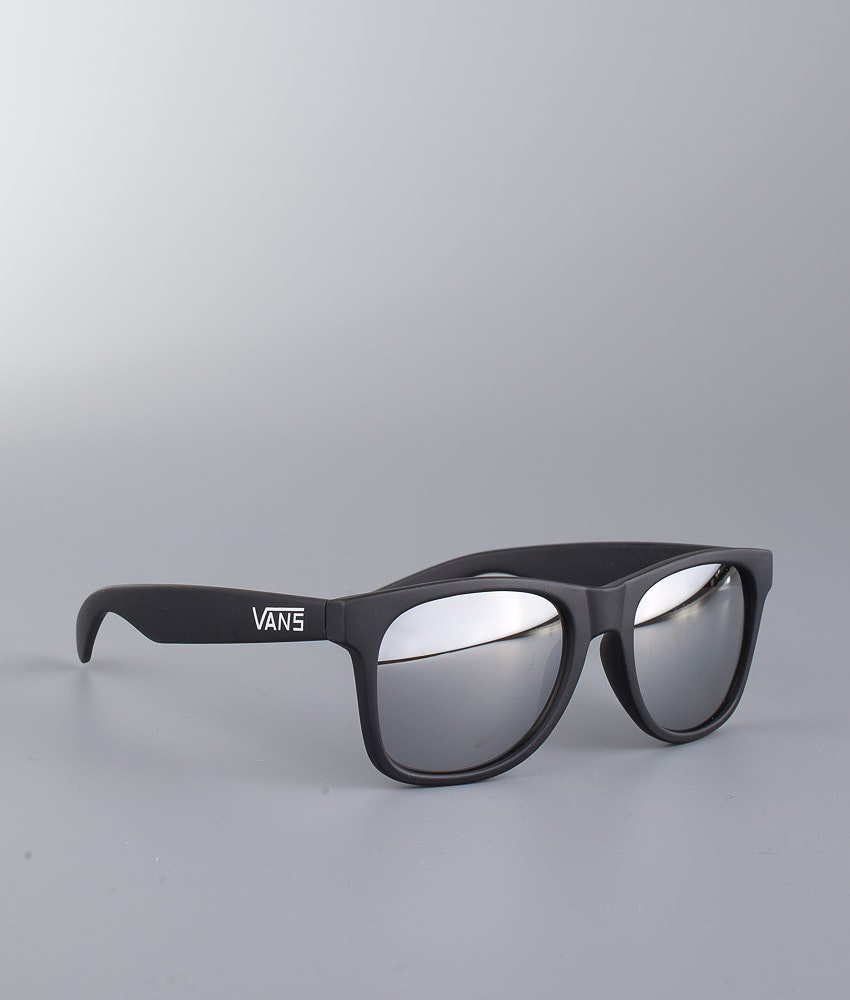 Vans Spicoli 4 Shades Sunglasses Matte Black/Silver Mirror