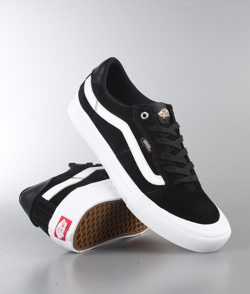b031eaed81 Vans Style 112 Pro Shoes Black Black White - Ridestore.com