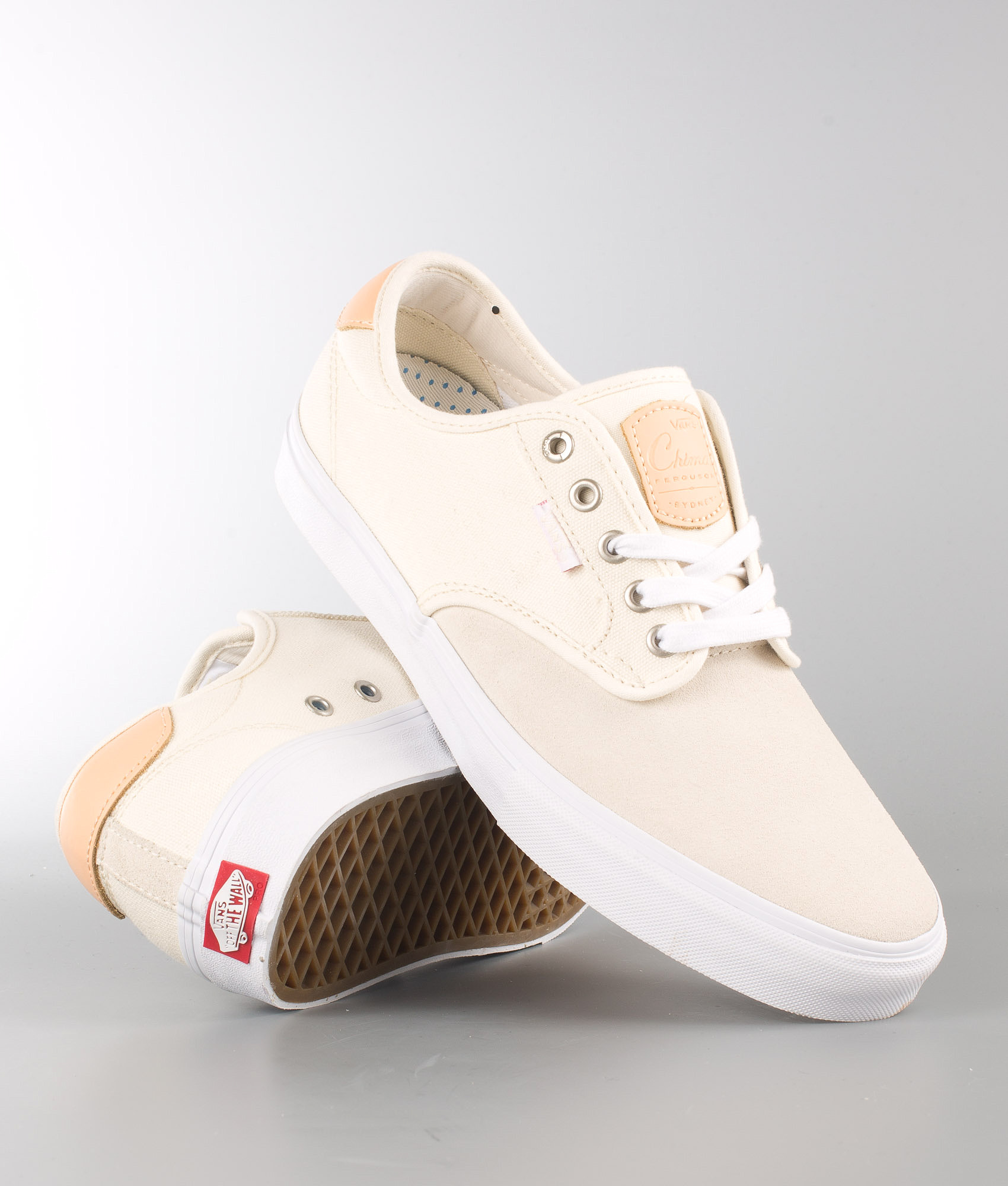 0bc16904d635d1 Vans Chima Ferguson Pro Shoes (Two-Tone) Antique White Natural ...