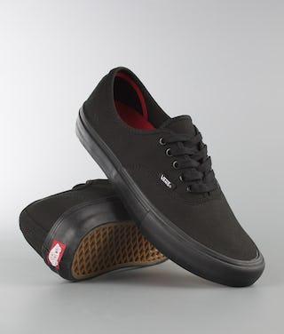 new styles 1a341 cbe26 Vans Authentic Pro Shoes Black/Black