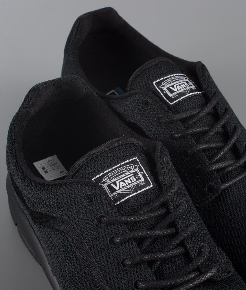 90e0d7b927 Vans Iso 1.5 Shoes Mono Black - Ridestore.com