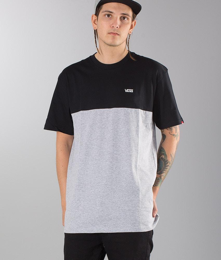 Vans Colorblock T-Shirt Black/Athletic Heather