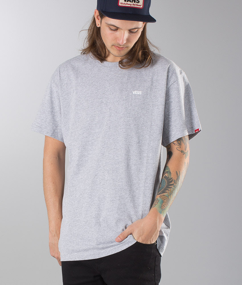 Vans Left Chest Logo Tee T-paita Athletic Heather