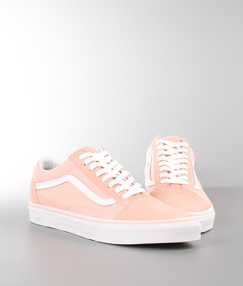 d52524c0ba7445 Vans Old Skool Scarpe (Suede Canvas) Tropical Peach True White
