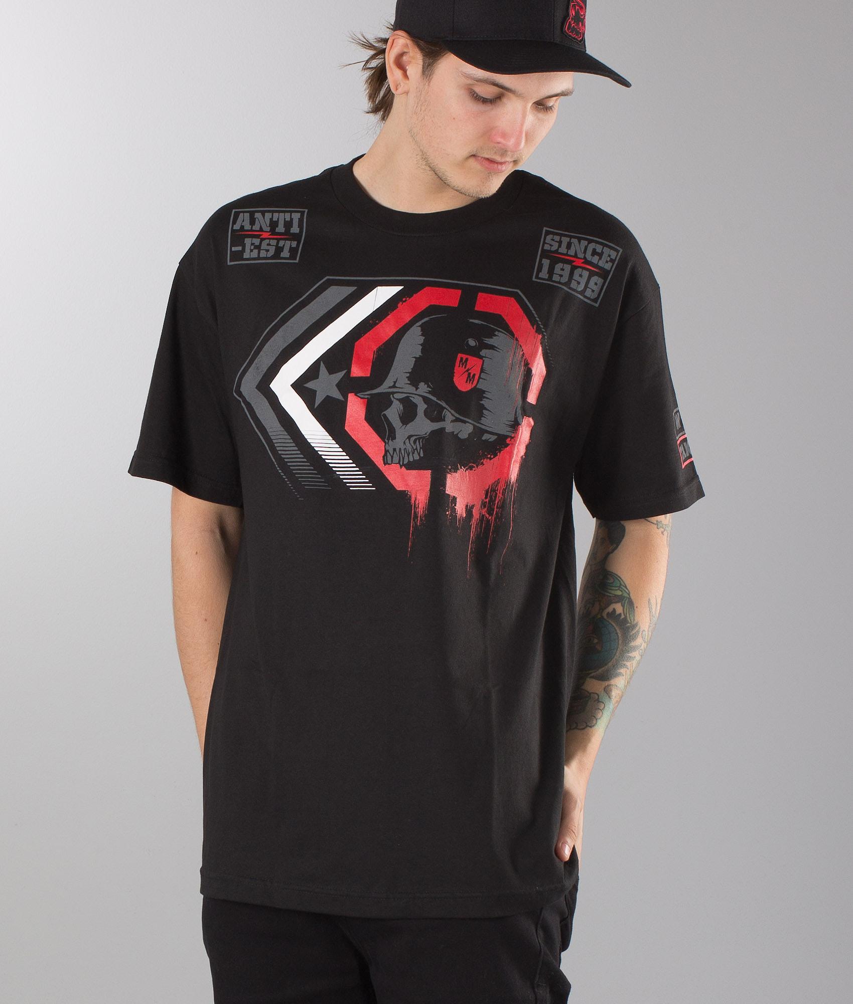 Metal Mulisha Shatter T-shirt Black - Ridestore com