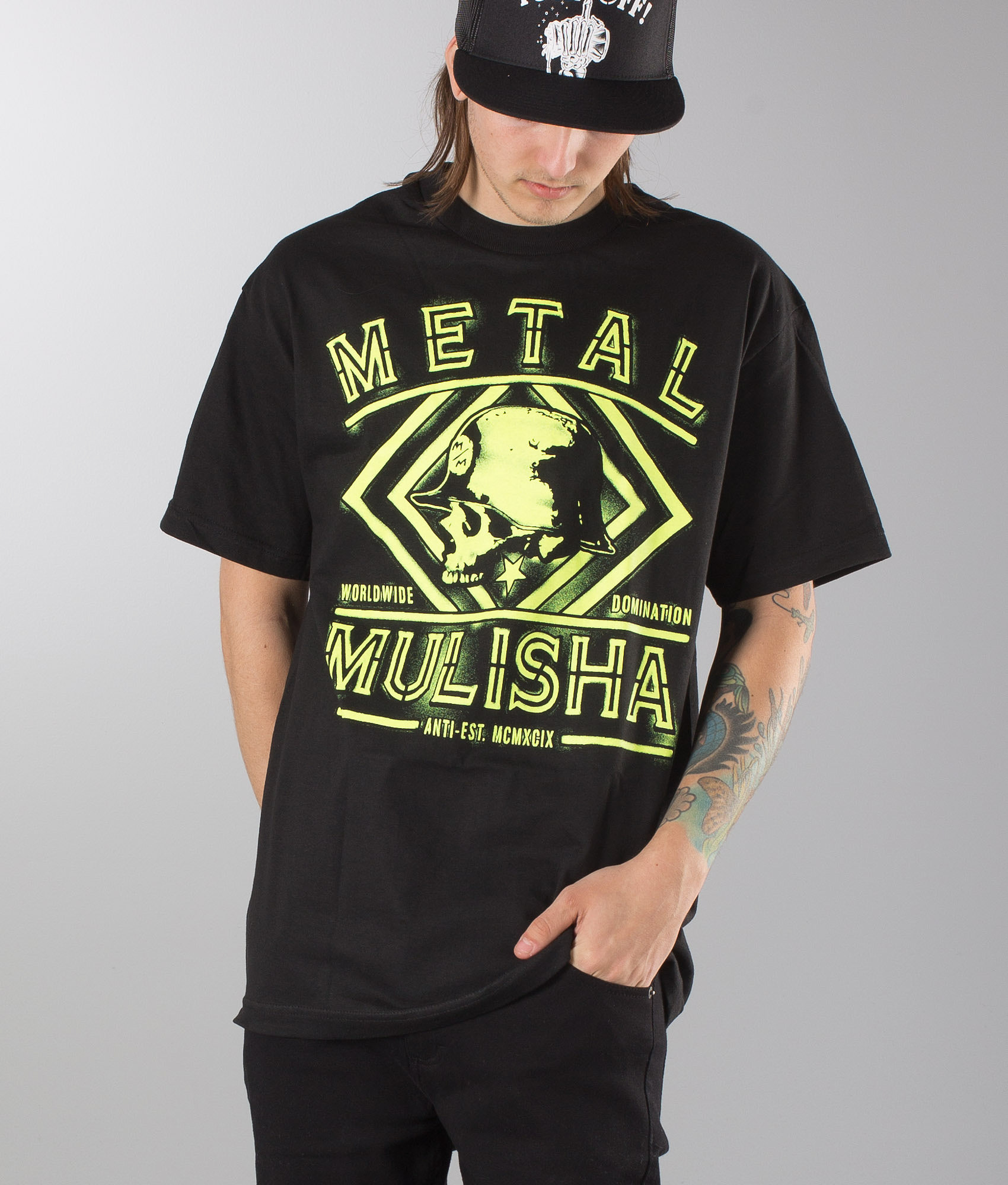 Metal Mulisha T Shirts Womens - DREAMWORKS