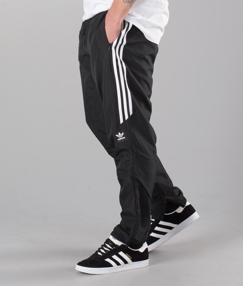 Adidas Skateboarding Premiere Pants Black White - Ridestore.com d260a0891