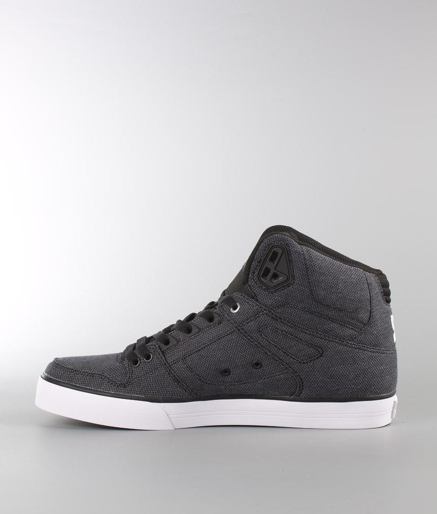 Dc Shoes Spartan High Wc Tx Se Sneakers Black Dark Used Men