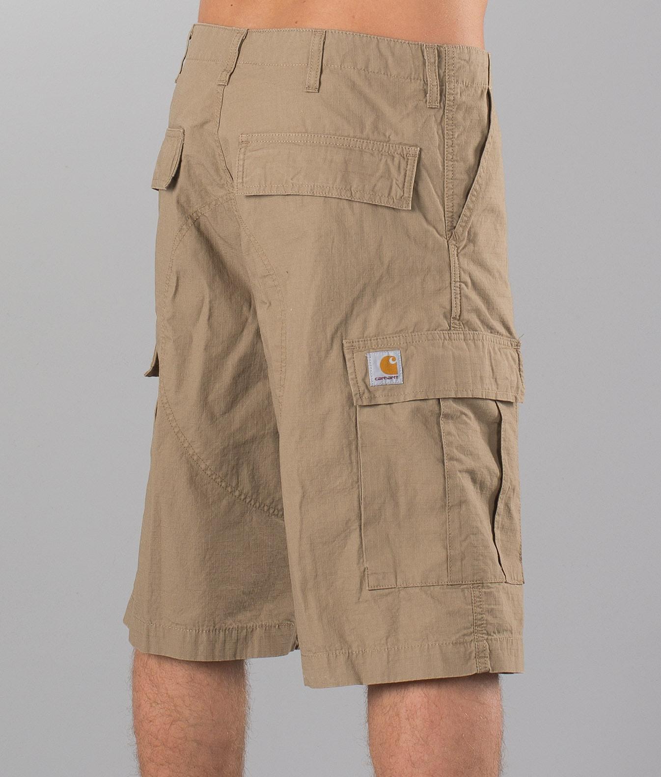 c65f29bc47 Carhartt Cargo Shorts Leather - Ridestore.com