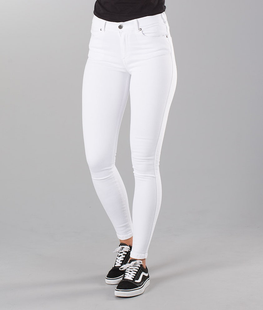 Dr Denim Lexy Pants White