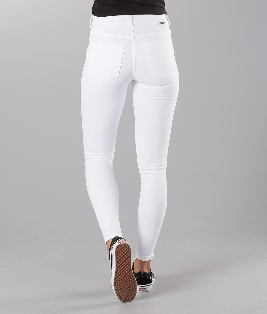 Dr Denim Lexy Hosen Damen White