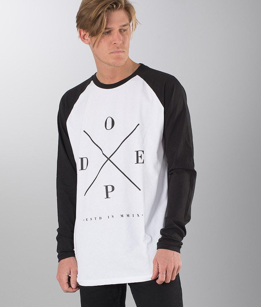 Dope 2X-Up Longsleeve White/Black