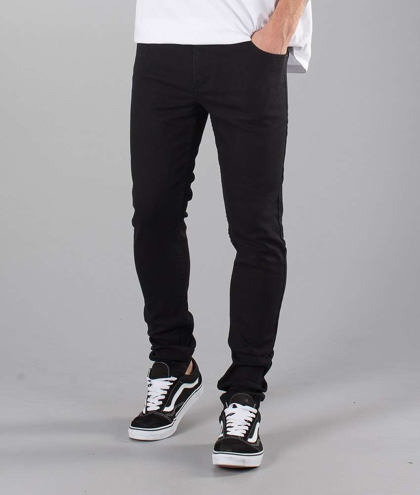 Sweet SKTBS Skinny Colored Pantaloni Black