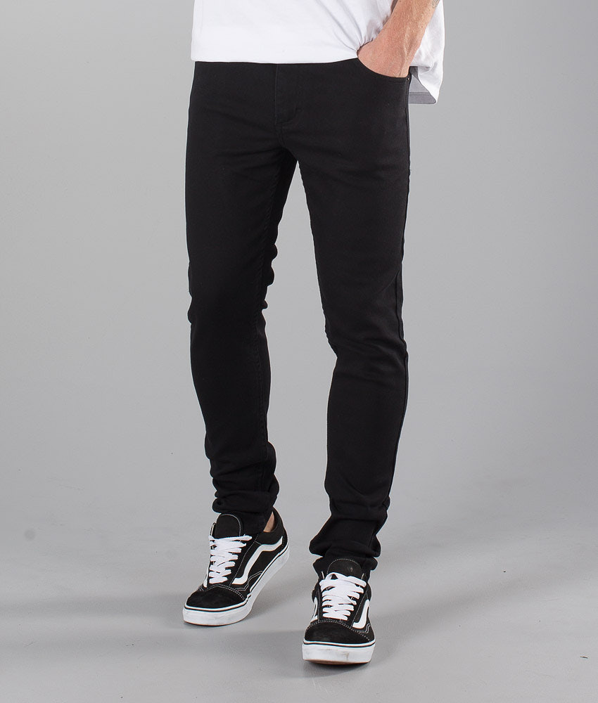 Sweet SKTBS Skinny Colored Housut Black