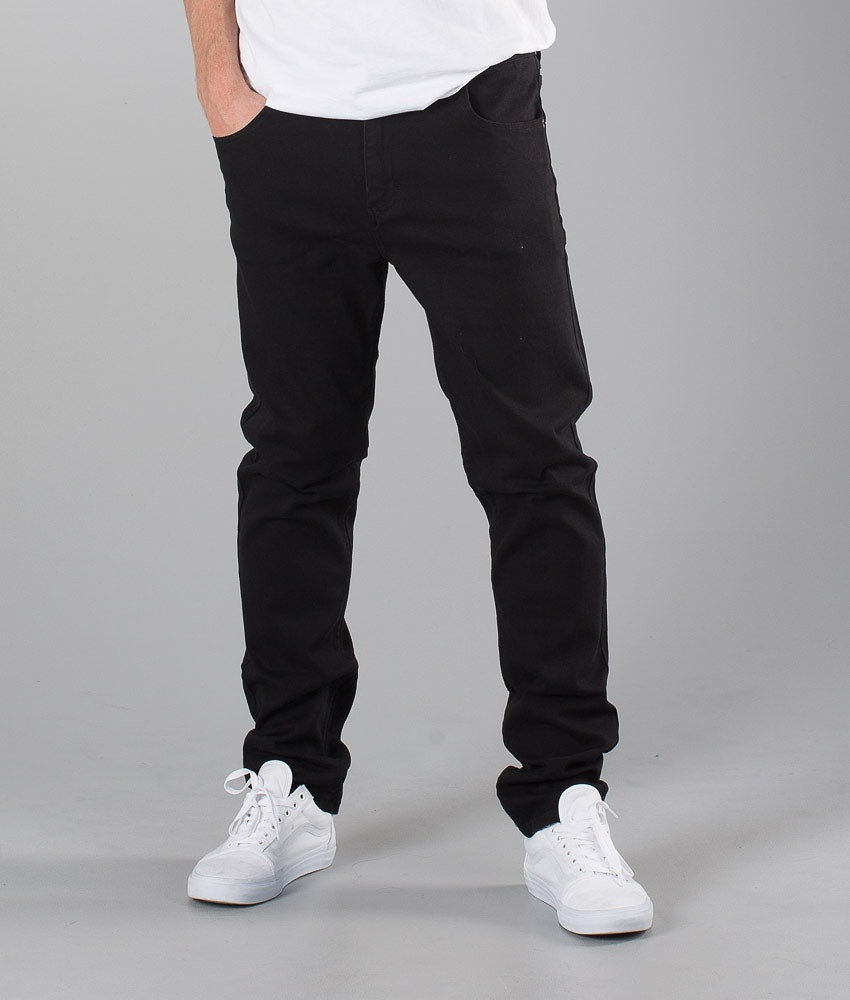 Sweet SKTBS Slim Colored Pantaloni Black