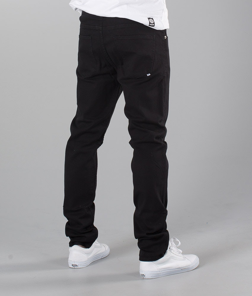 Sweet SKTBS Slim Colored Bukser Black