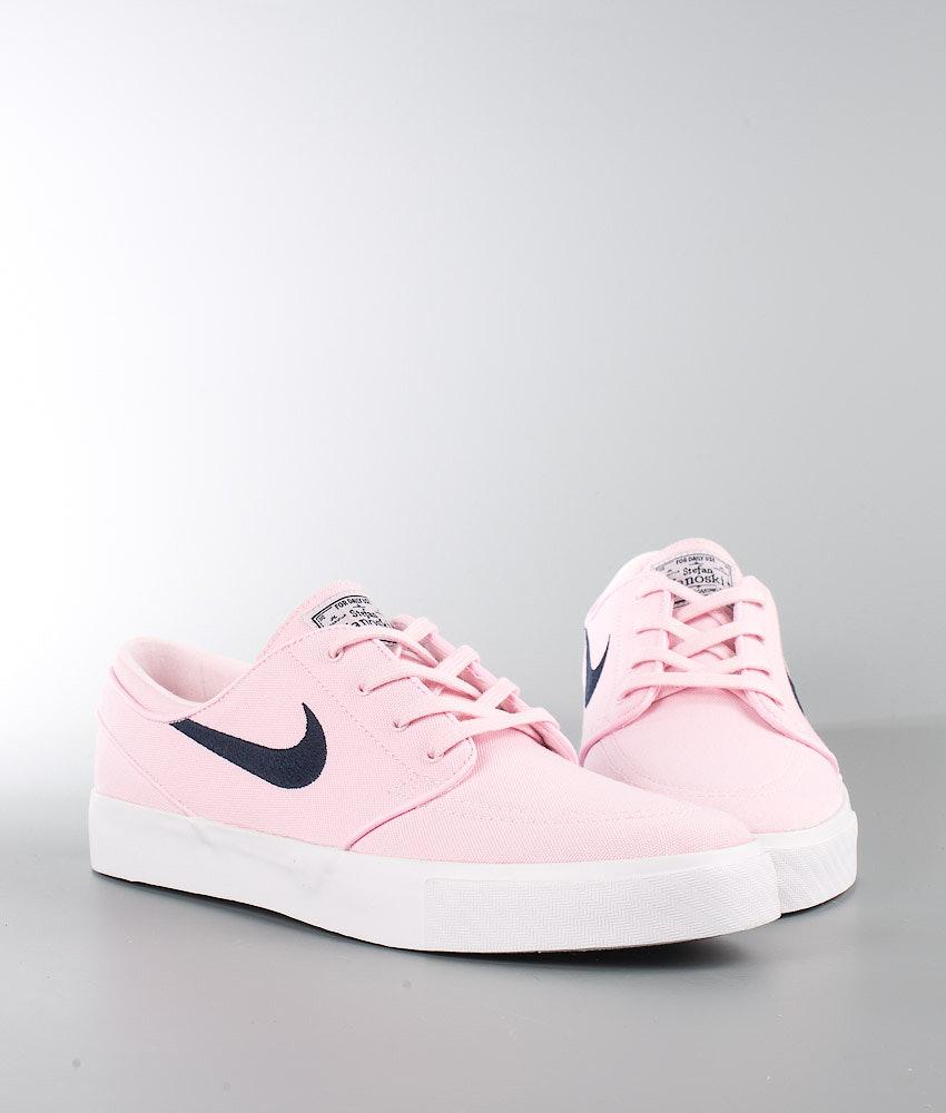 0969db90dfd00 Nike Zoom Stefan Janoski Cnvs Shoes Prism Pink/Obsidian