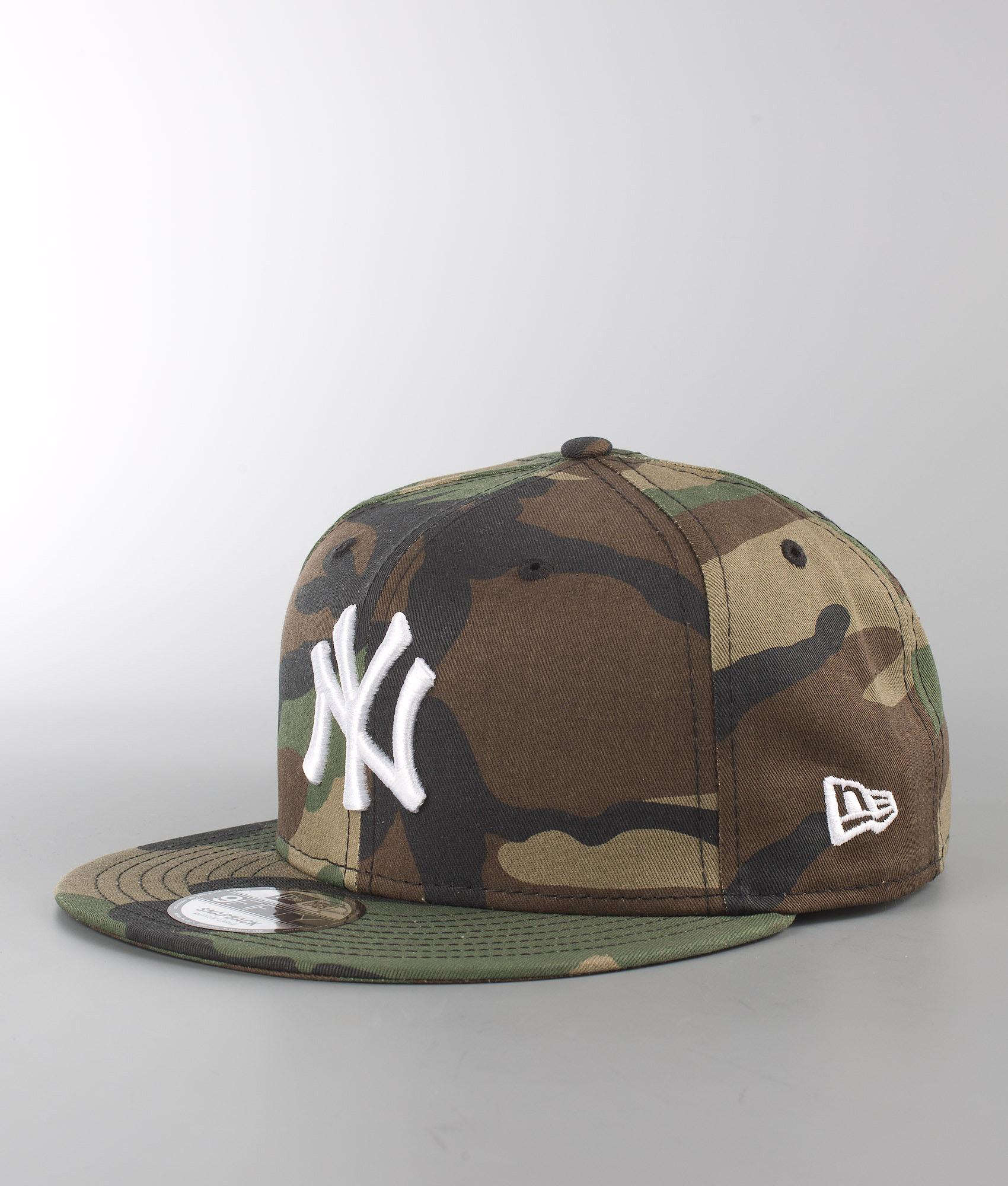 17f88688639 New Era League Essential 9Fifty New York Yankees Cap Camo ...