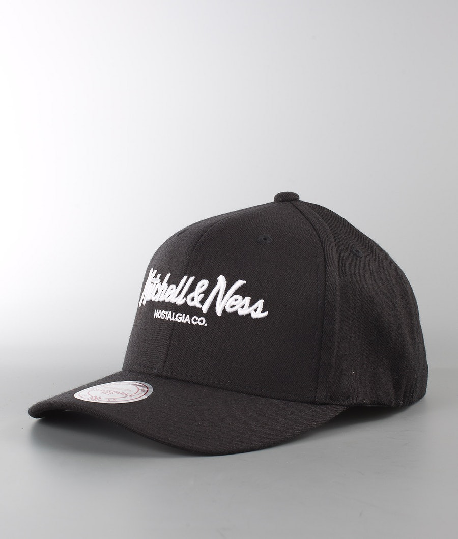 Mitchell and Ness Pinscript 110 Cappello Black
