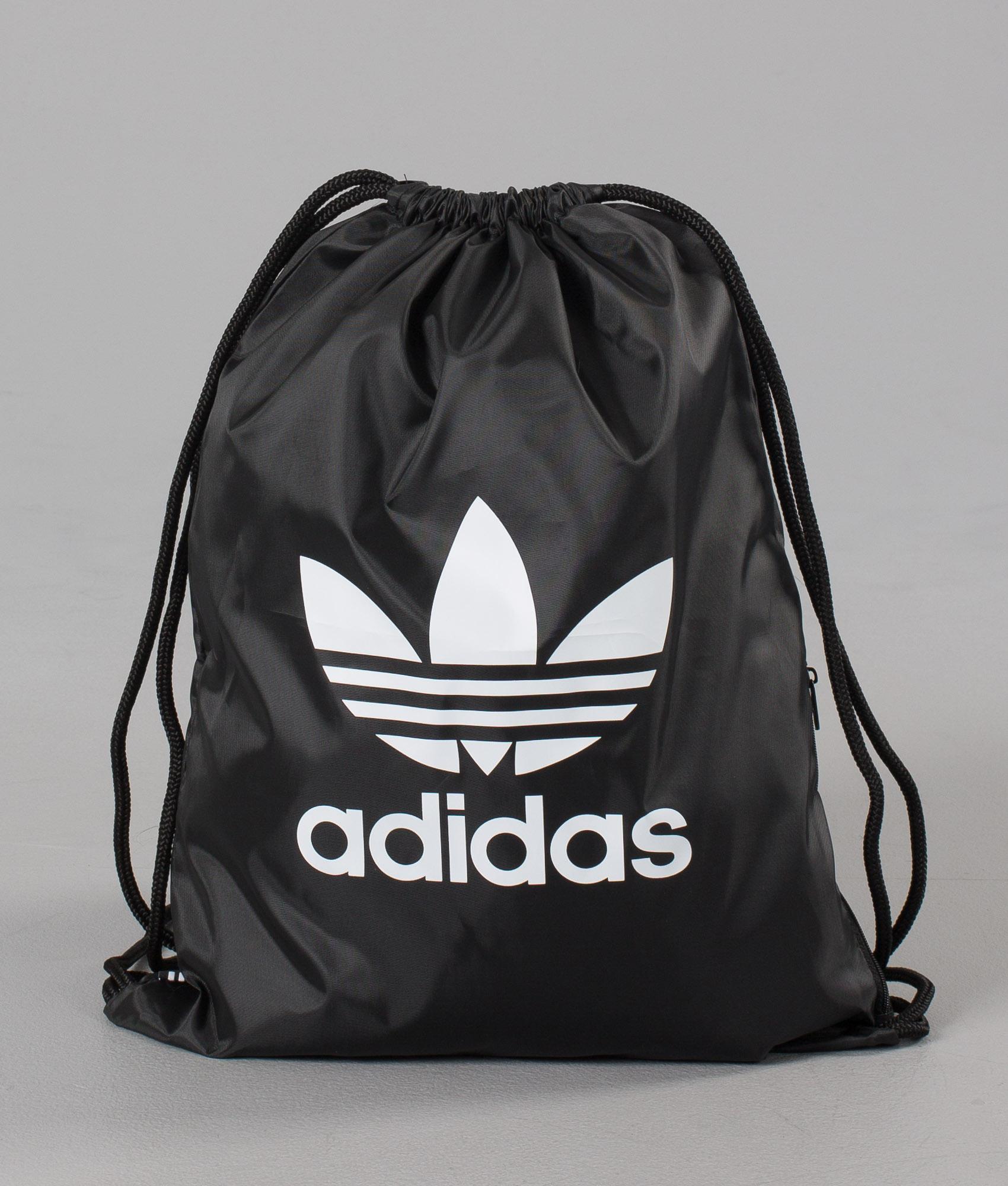 huge selection of 26640 4b466 Adidas Originals Gymsack Trefoil Bag Black - Ridestore.com