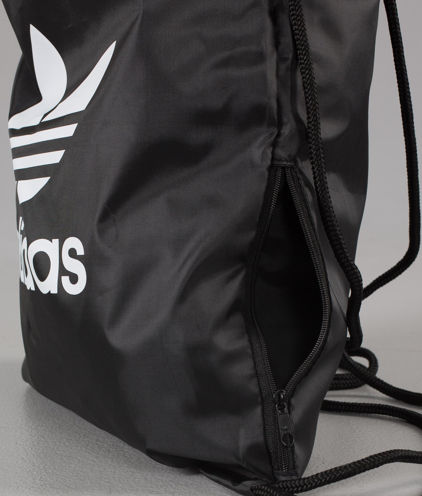 5e3cb80d12 Adidas Originals Gymsack Trefoil Zaino Black - Ridestore.it
