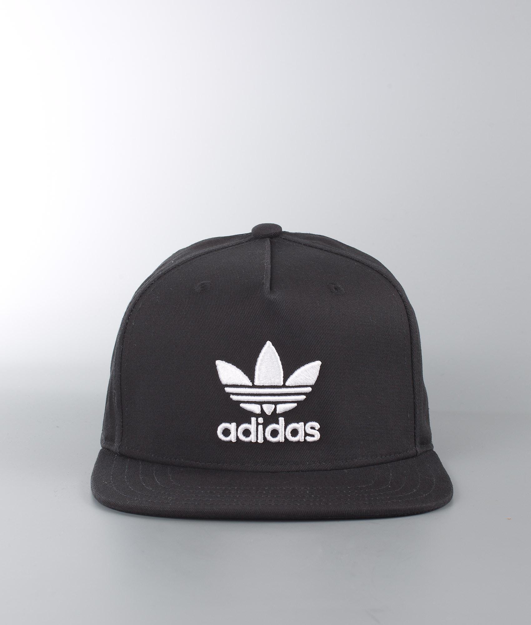 a5850c318bf Adidas Originals Ac Cap Tre Flat Cappello Black - Ridestore.it