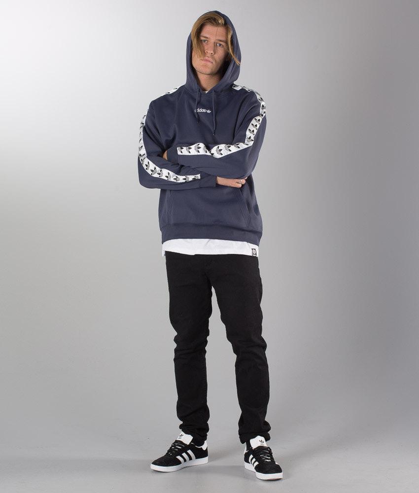 9d74d353486815 Adidas Originals Tnt Tape Hoodie Trablu/White - Ridestore.de