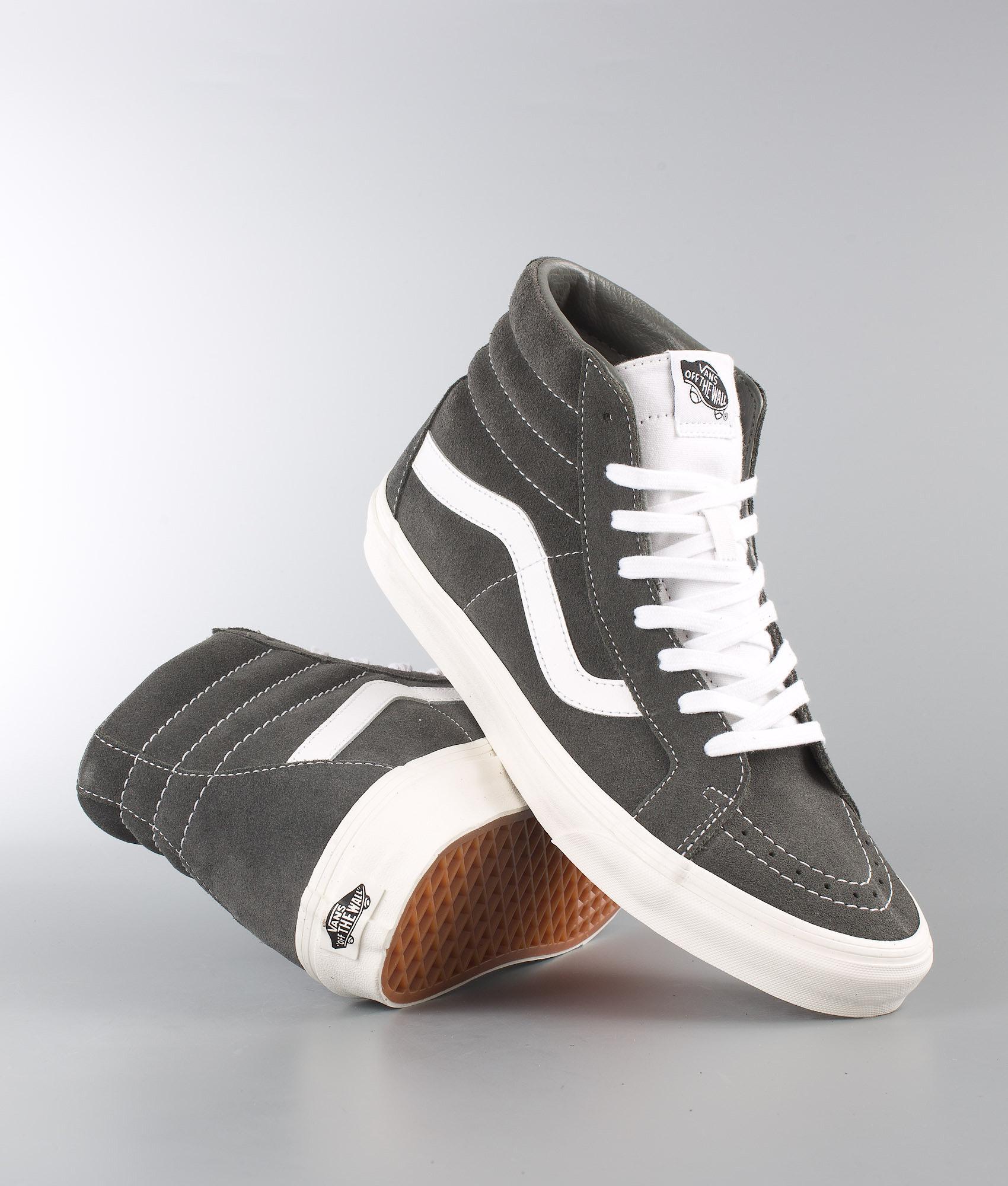 549bac29c3 Vans Sk8-Hi Reissue Shoes (Retro Sport) Gunmetal - Ridestore.com