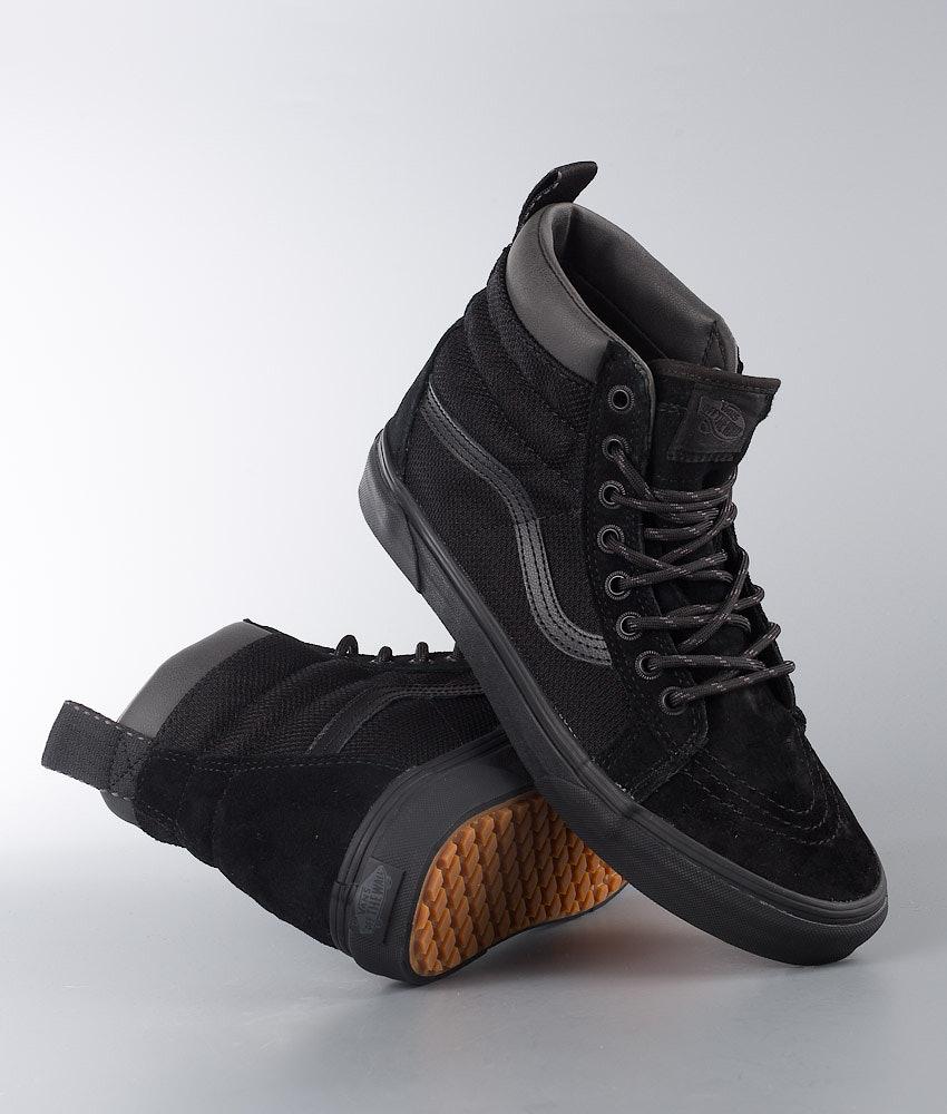 f4d6aeee631c Vans Sk8-Hi Mte Shoes (Mte) Black Ballistic - Ridestore.com