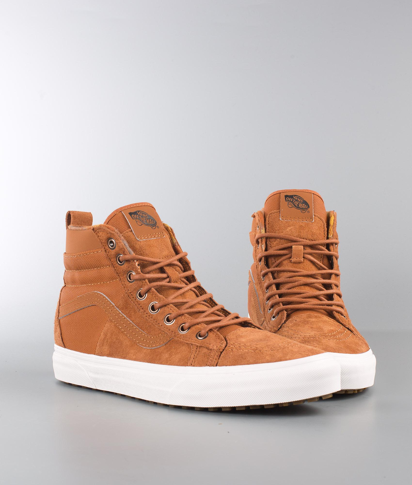 335844f75a5d2 Vans Sk8-Hi 46 Mte Dx Shoes (Mte) Glazed Ginger Flannel - Ridestore.com