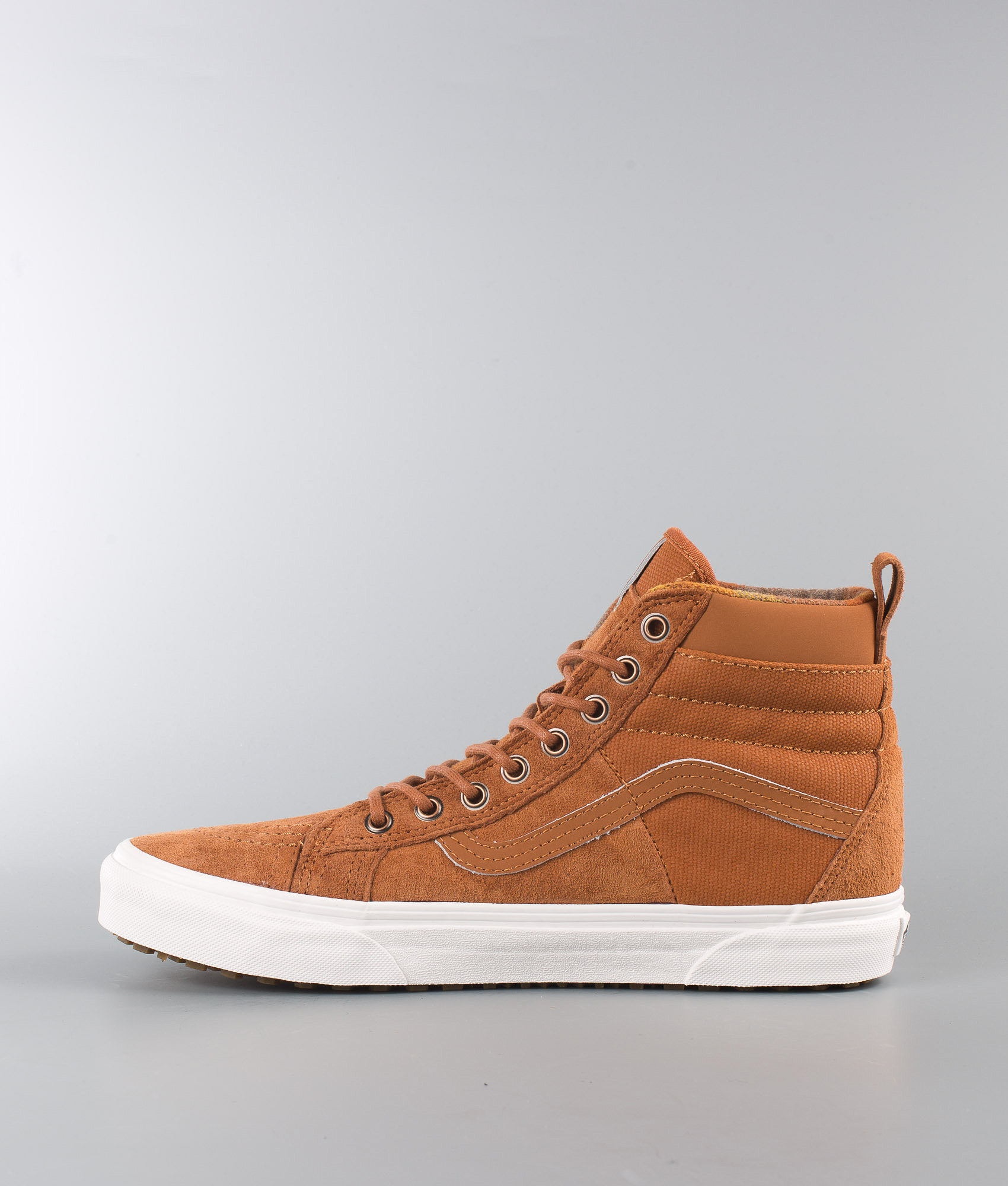 1bb8ed0b784 Vans Sk8-Hi 46 Mte Dx Shoes (Mte) Glazed Ginger Flannel - Ridestore.com