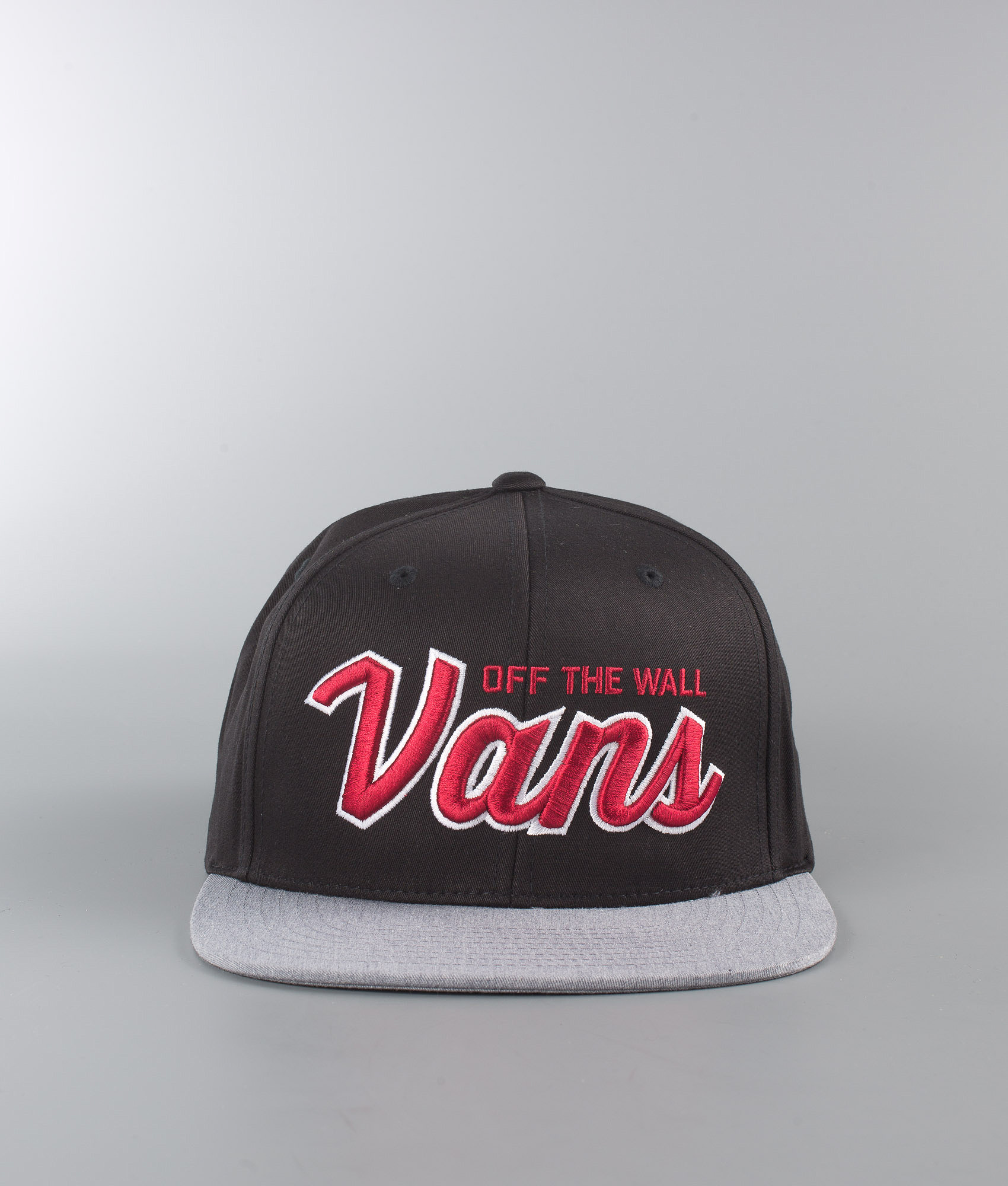 Vans Wilmington Snapback Cap Black Heather Grey - Ridestore.com f948a98a228