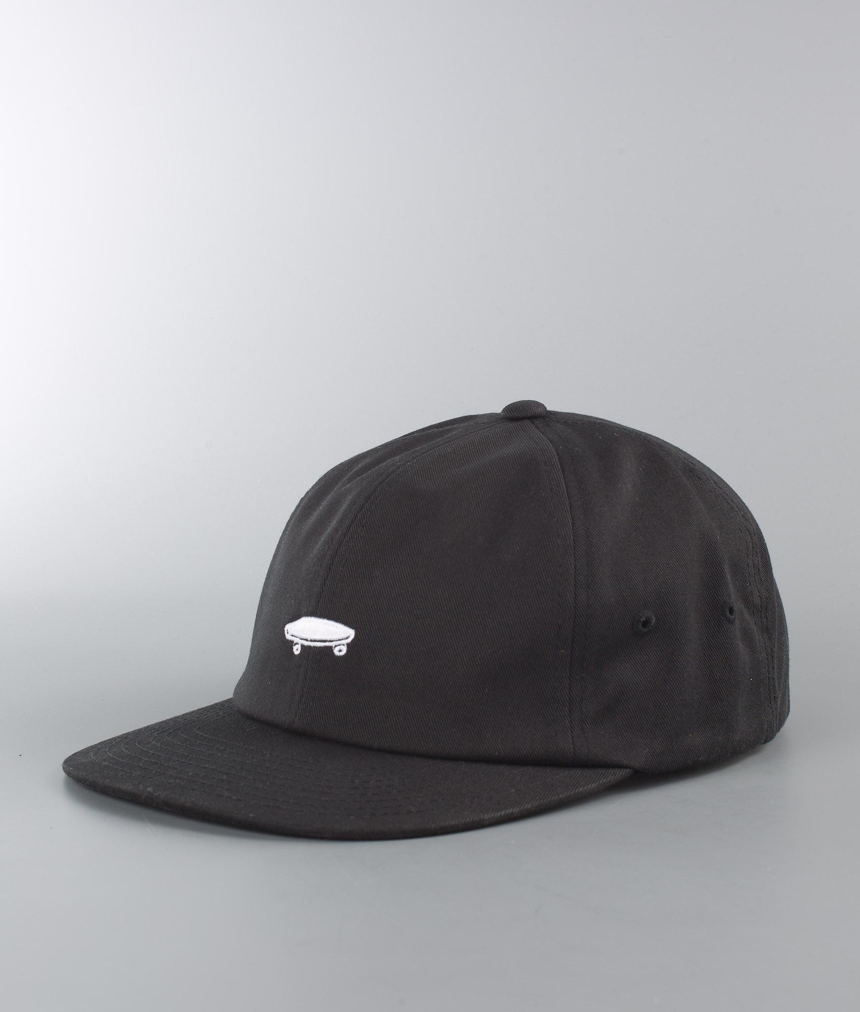 Vans Thrasher X Vans Jockey Cap Black (Thrasher) - Ridestore.com 97366e9d4cf