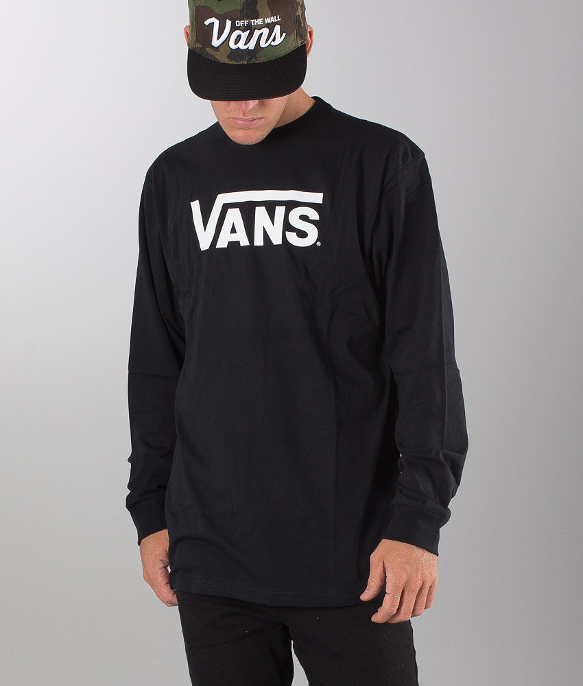 Vans Vans Classic Longsleeve Black/White