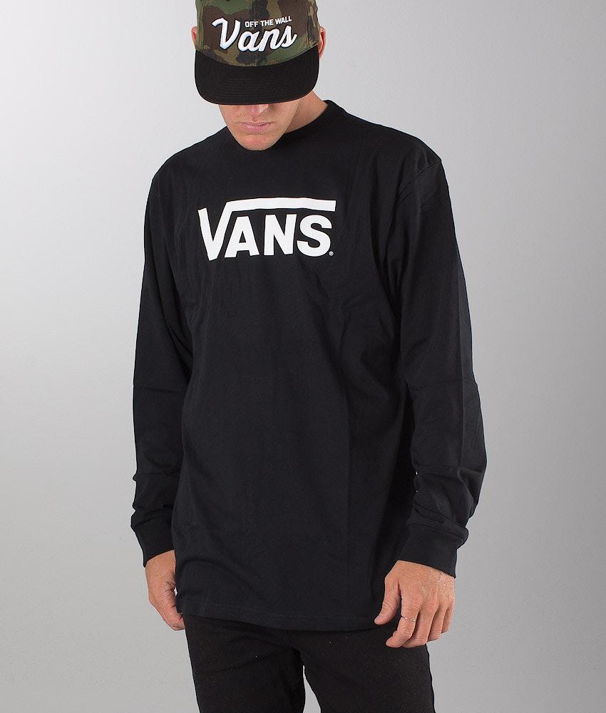 Vans Classic Longsleeve Black/White