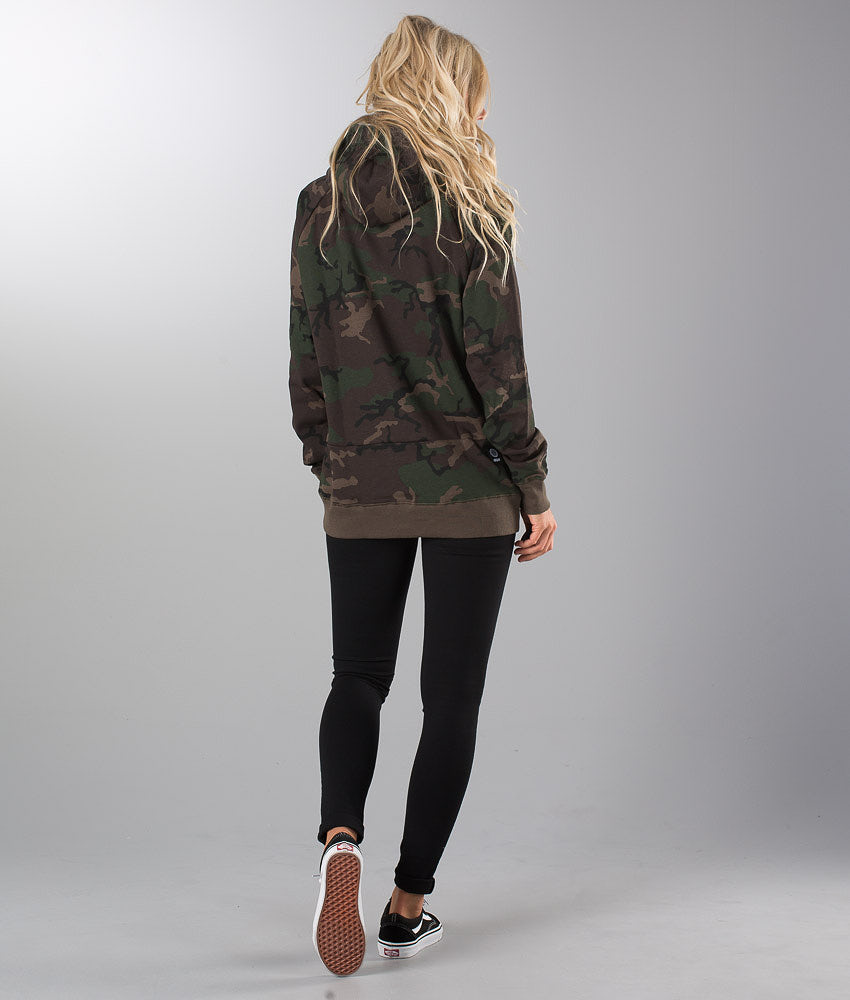 Dope 2X-Up Unisex Hood Woodcamo